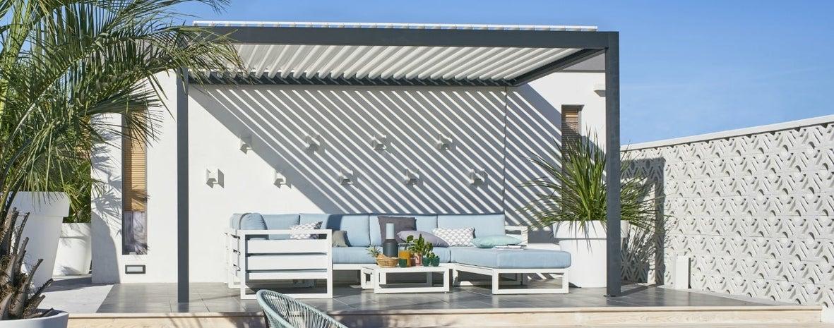 Terrasse Avec Pergola Adoptez Le Confort Bioclimatique Leroy Merlin