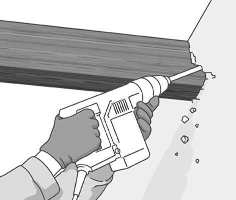 Comment déposer un plancher existant en bois ?   Leroy Merlin